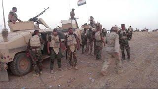 أخبار حصرية - أخبار الآن ترصد معارك تحرير الساحل الايسر من قضاء الشرقاط