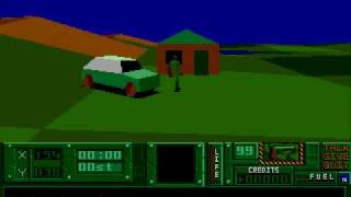 Hunter (intro & gameplay) - Atari ST