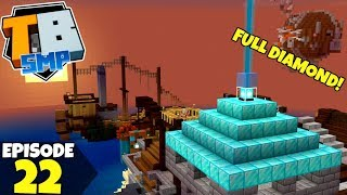 Truly Bedrock Episode 22! FULL DIAMOND BEACON!💎 Minecraft Bedrock Survival Let's Play!