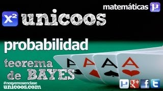 Teorema de BAYES BACHILLERATO matematicas probabilidad total y condicionada