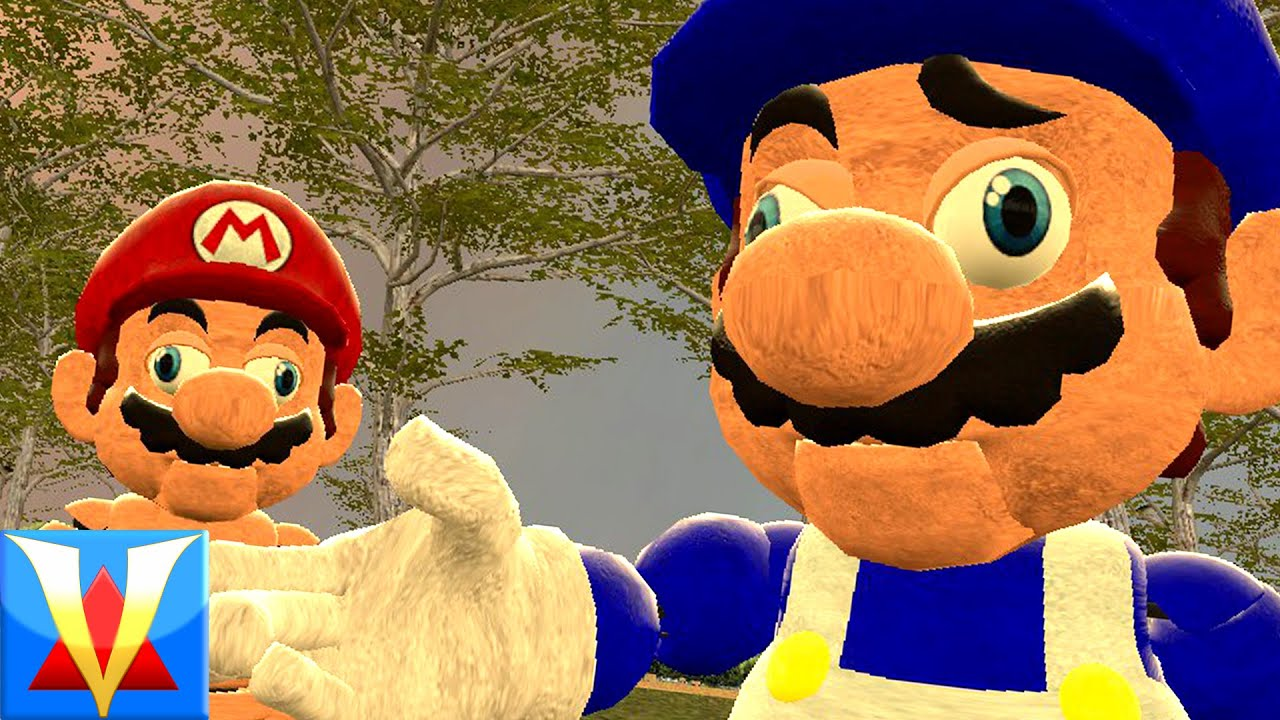 Mario in Gmod Horror Animatronic