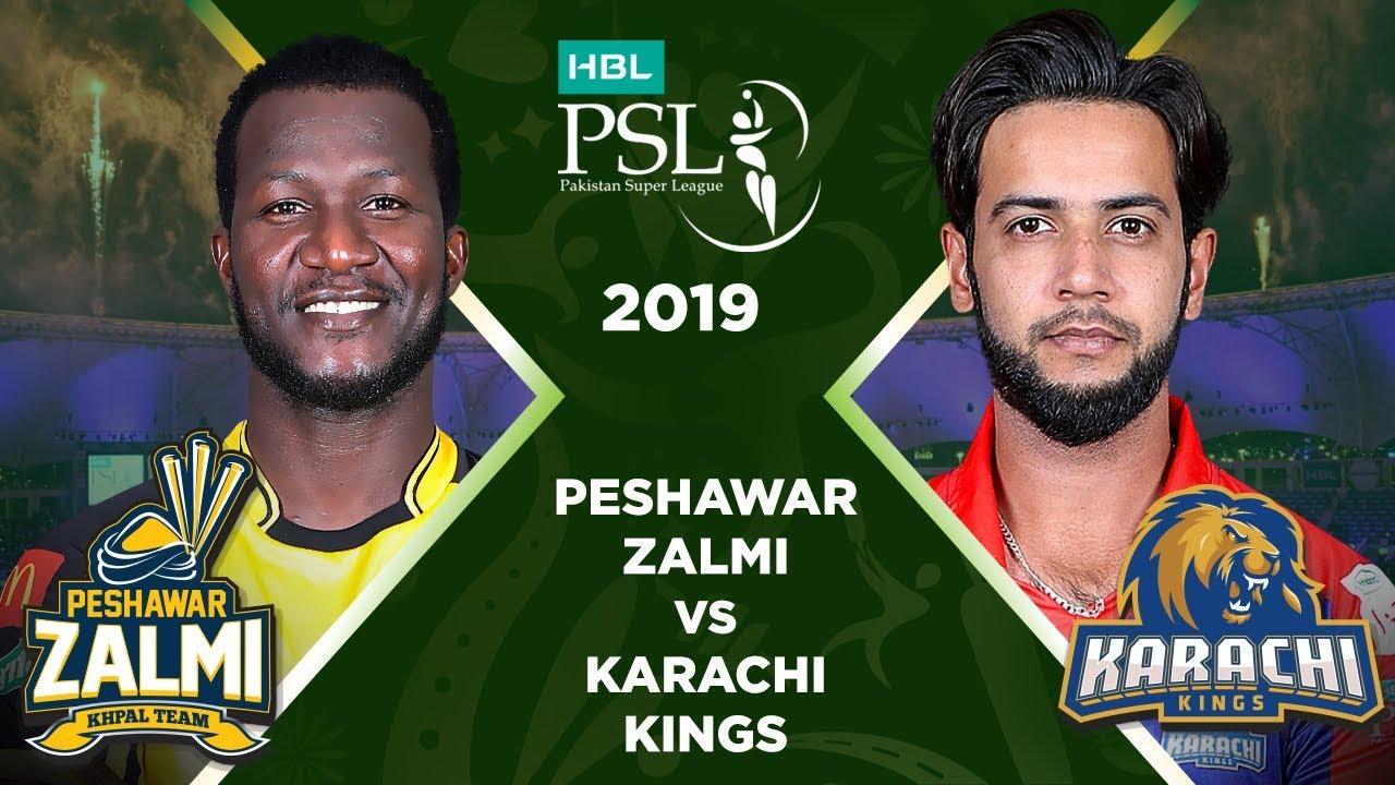 a0a8ead57c Match 9: Full Match Highlights Peshawar Zalmi vs Karachi Kings | HBL PSL 4  | HBL PSL 2019. Pakistan Super League