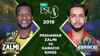 Match 9: Full Match Highlights Peshawar Zalmi vs Karachi Kings | HBL PSL 4 | HBL PSL 2019
