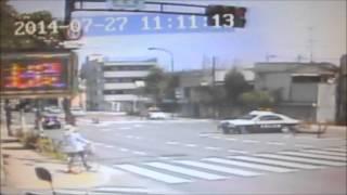 パトカー事故