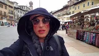 APLANANDO CALLES EN EUROPA, VERONA ITALIA