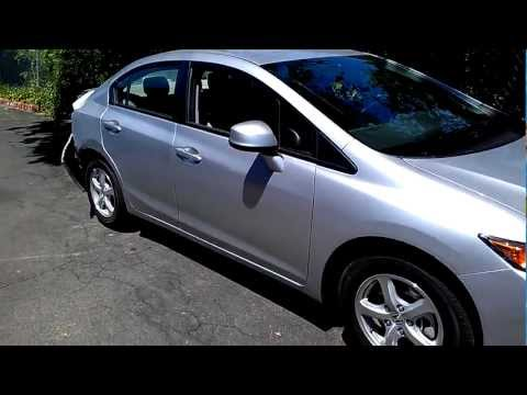 Vacaville Auto Body Shop Repairs 2012 Honda Civic CNG