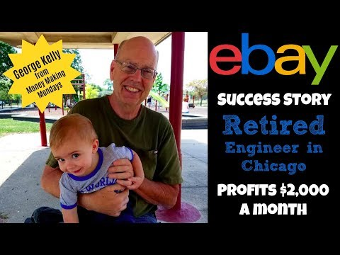 eBay Seller Success Story: Retired Engineer Makes $2,000 a Month on eBay