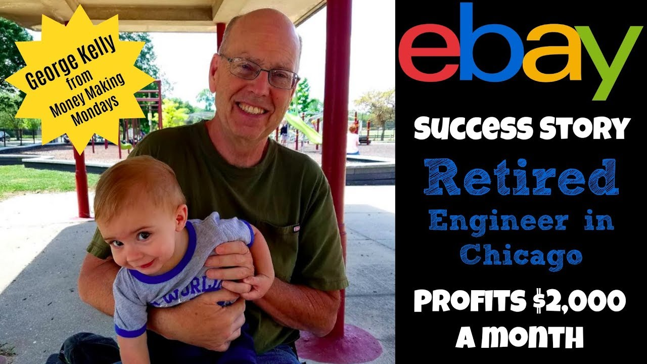 Ebay Seller Success Story Retired Engineer Makes 2 000 A Month On Ebay Youtube