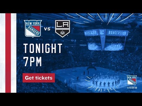 NHL 18 PS4. REGULAR SEASON 2017-2018: Los Angeles KINGS VS New York RANGERS. 12.15.2017. (NBCSN) !