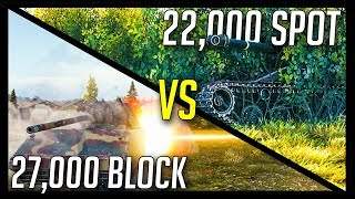 ► 27,000 Blocked vs 22,000 Spotting, Who Are You? - World of Tanks Epic Gameplay