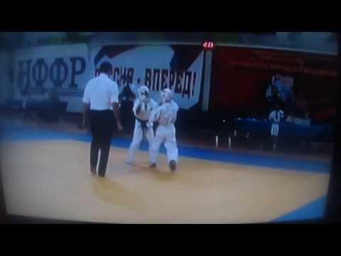 Соревнование по КУДО во Фрязино Алиев Наиль ( белый пояс)бой №1