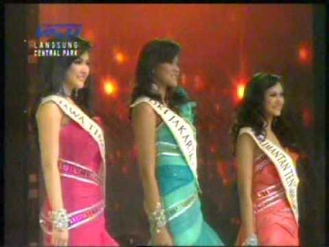 3 besar Miss Indonesia 2011