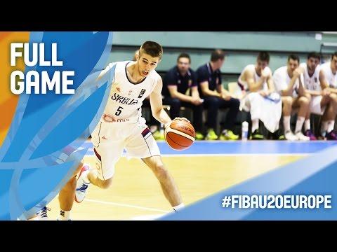 Serbia v Israel - Full Game - CL 11-12 - FIBA U20 European Championship 2016