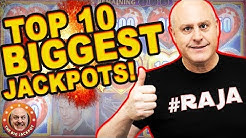 😱EPIC GRAND JACKPOT$! 😱Top 10 BIGGEST JACKPOTS! 🎰December 2019