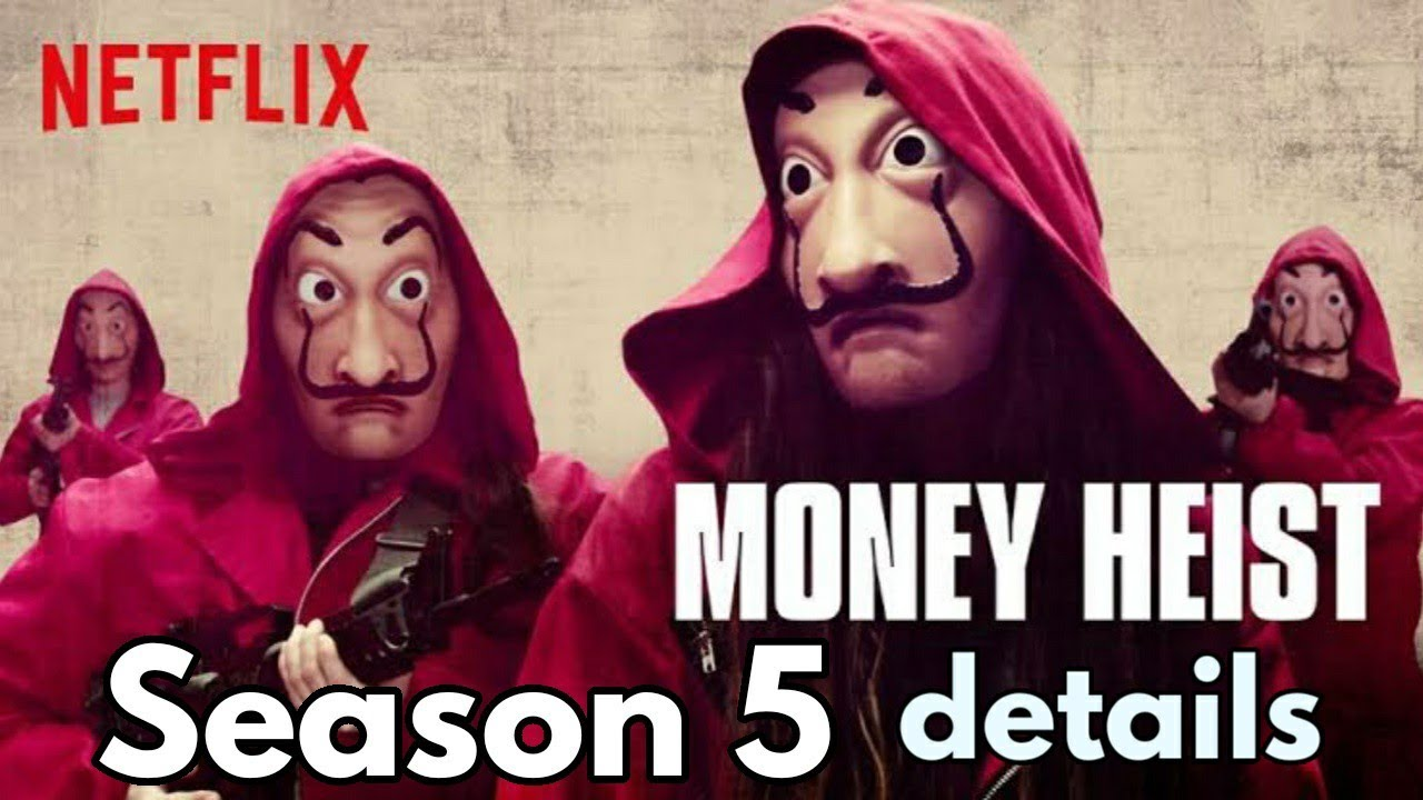 Download money heist season 5 every details in hindi   ending explain    Netflix