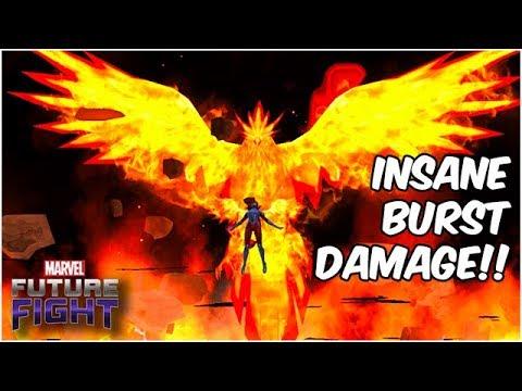 Keep Your Fire Obelisks?! T3 HUGE BURST DAMAGE!! - Marvel Future Fight