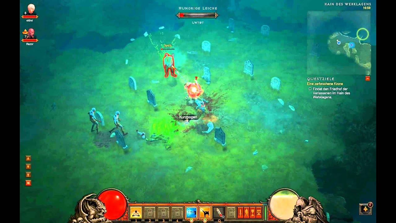 Diablo 3 Beta - Run 2 - Part 3/8 [deutsch/Full-HD]