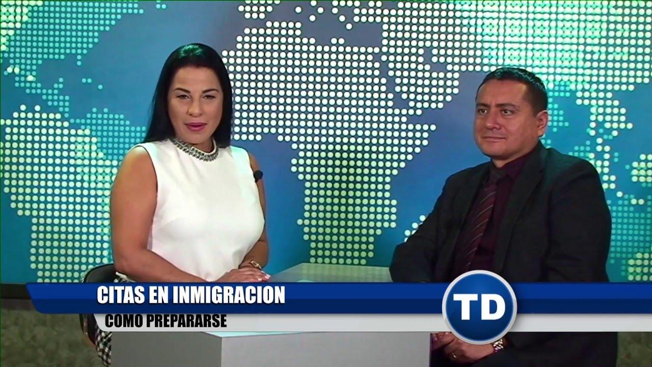 Cómo prepararse para una cita en Inmigración? - YouTube