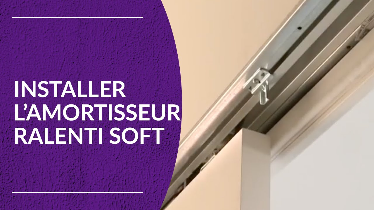 Ralenti Soft Installation De Lamortisseur YouTube - Reglage porte placard coulissante