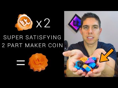 Print This Super Satisfying Two Part Maker Coin!