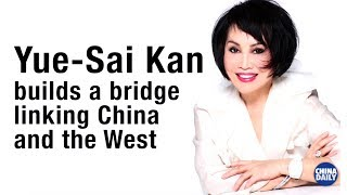 Yue-Sai Kan builds a bridge linking China and the West
