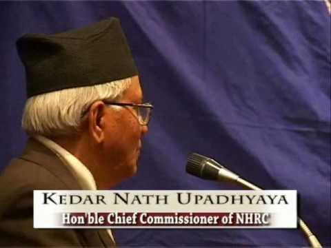 Kedar Nath Upadhyaya part one