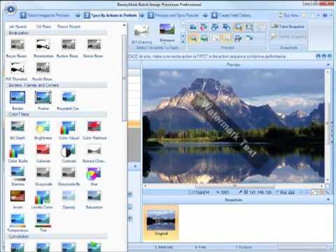 Batch Image Processor Overview