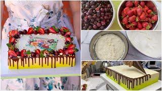 Кондитерский VLOG Не взбились СЛИВКИ Угощения для ВЫПУСКНИКОВ Готовим торт ВМЕСТЕ Мама Вика