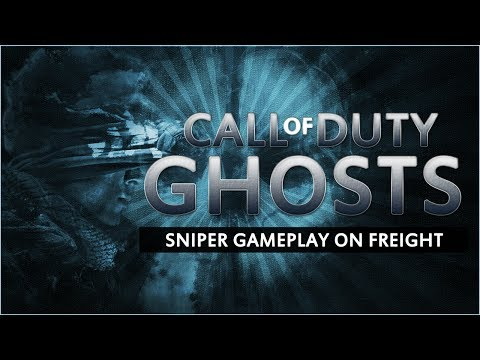 [PS4] COD Ghosts - Freight Sniper gameplay