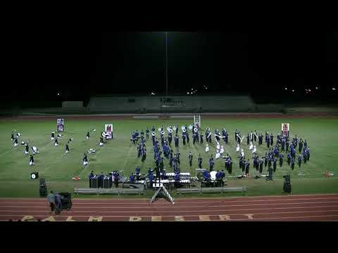 CATHEDRAL CITY BAND AND COLOR GUARD 10/21/17 @ PDHS TOURNAMENT OF CHAMPIONS