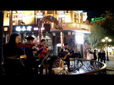 Harbin central street music
