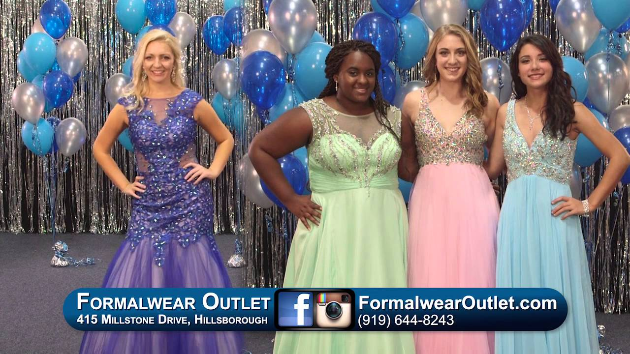 Formalwear Outlet Prom Dress TV Commercial 2016 - YouTube