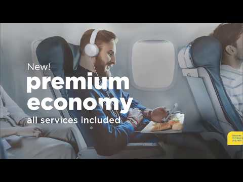 UIA's Premium Economy Class