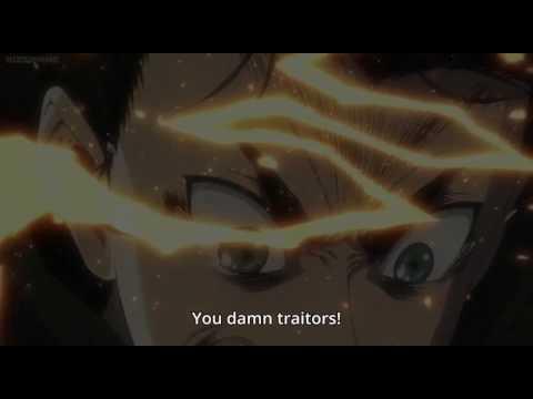 Eren Delivers A Superman Punch To Reiner