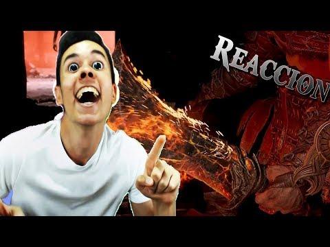 """""""TheGrefg"""" reacciona a las Espadas del Caos   GOD OF WAR 4"""