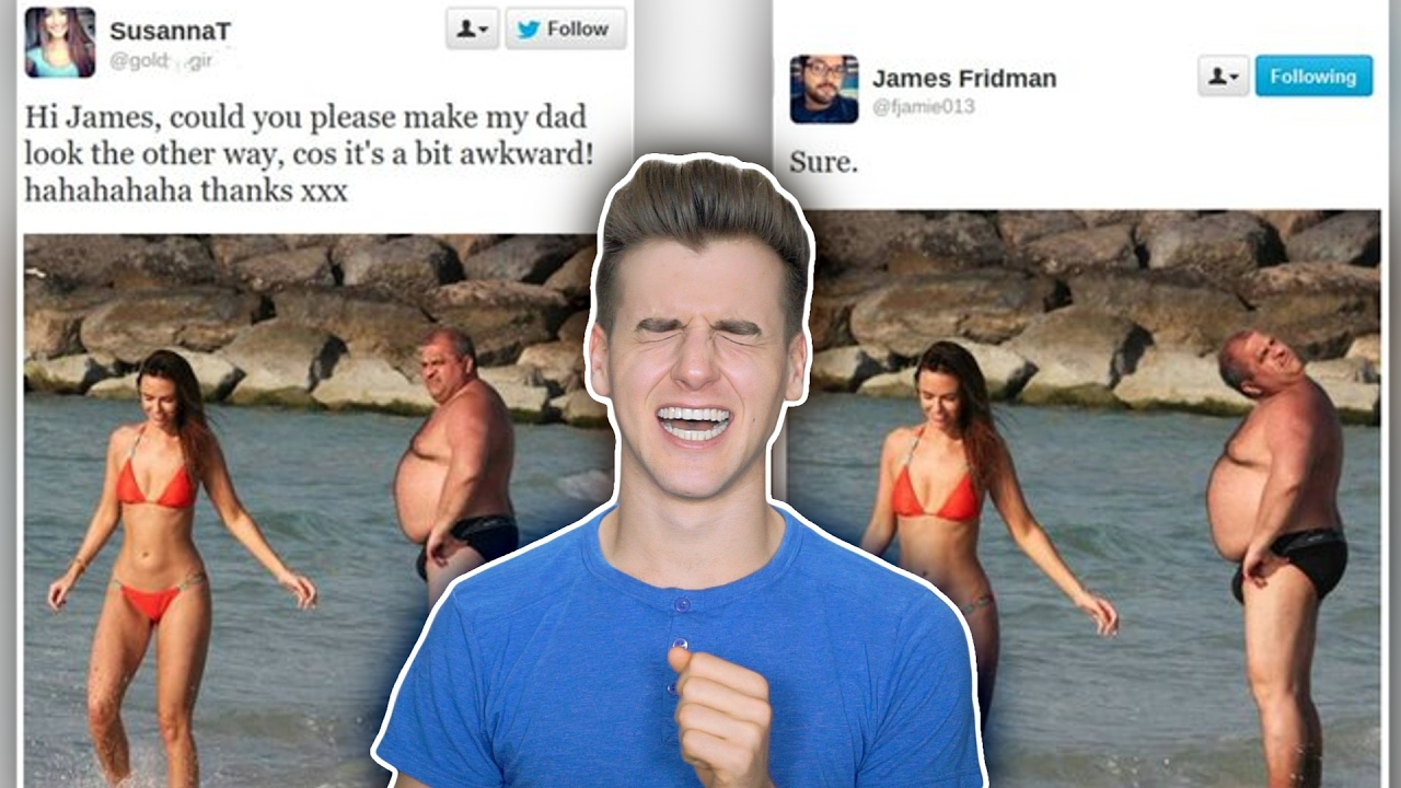The Funniest Photoshopping Troll On Twitter YouTube - 22 hilarious photoshop trolls part 2