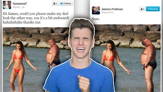 The Funniest Photoshopping Troll On Twitter!