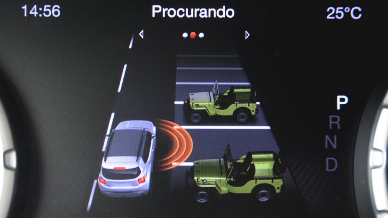 Jeep renegade assistente de estacionamento tecnologia bosch youtube