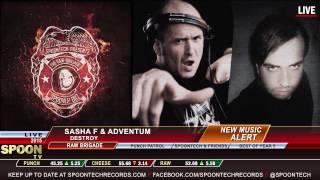 Sasha F & Adventum - Destroy [SPOONLP 002]