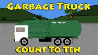 Vids4kids.tv - Garbage Trucks - Count To Ten