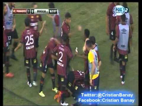 Atletico Paranaense 1 Brasilia 0 (Fox Sports) Copa Sudamericana 2015