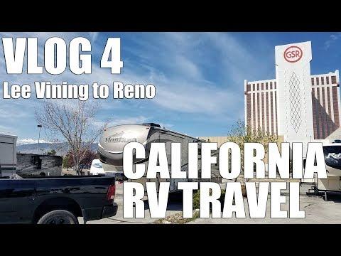 Vlog 4 - RV Travel from Lee Vining California to Reno Nevada