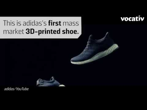 uk availability 9a8bc 0ded3 Adidas 3D printed shoes - for education demo