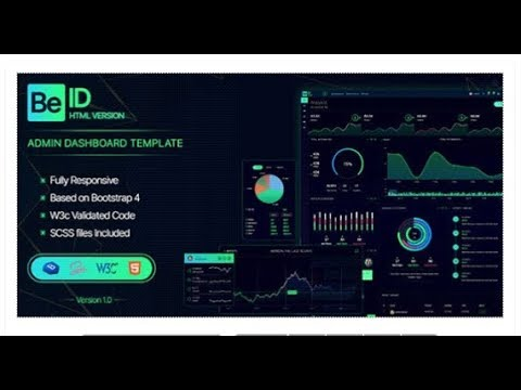 Beid - Bootstrap 4 Admin Dashboard Template | Themeforest Templates