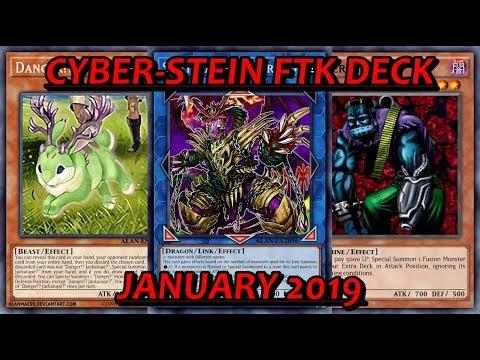 [YGO PRO] Cyber Stein FTK Deck - January 2019