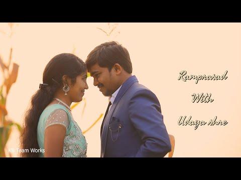 #Samajavaragamana Pre Wedding Song || Ramprasad With Udaya Sri || MKB Team Work Studios