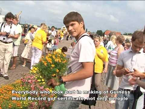 Ventspils Guinness World Record