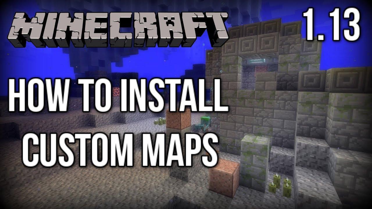 minecraft adventure maps 1 13