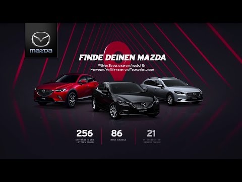 Mit einem Klick zum neuen Mazda