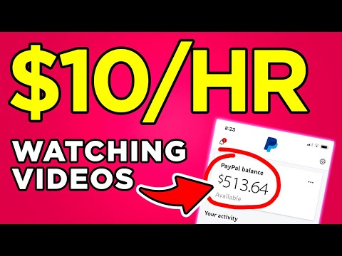 Earn $10 Hour Watching Videos Online (Free PayPal Money)